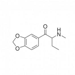 Butylone (bk-MBDB or β-keto-N-methylbenzodioxolylbutanamine or 1-(1,3-benzodioxol-5-yl)-2-(methylamino)butan-1-one)