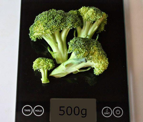 500 grams of Broccoli