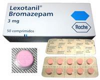 Lexotanil (Bromazepam) 3mg